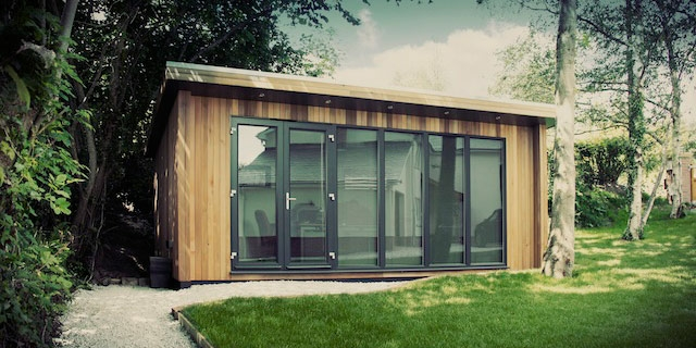 How a garden room can add value to your home for Garden office design